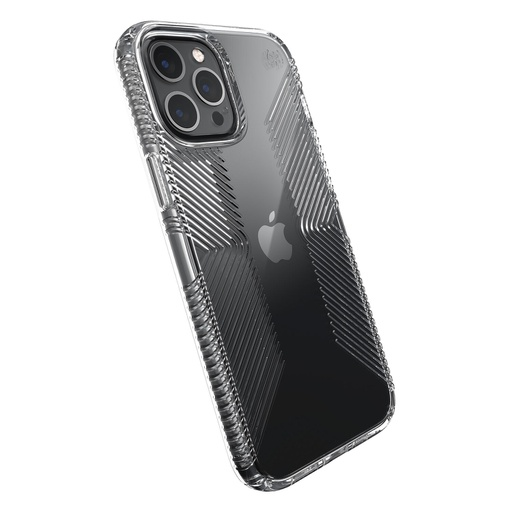 [138506-5085] Speck Presidio Grip | iPhone 12 Pro Max (6.7) - Perfect Clear /w Grips