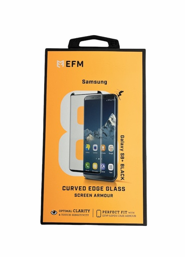 [BC-31566] EFM Curved Glass Armour | Samsung Galaxy S8